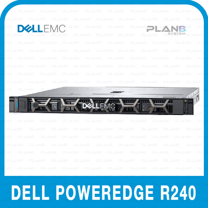 DELL PowerEdge R240 E-2244G 16G/12Tx2/250W/3y BTO