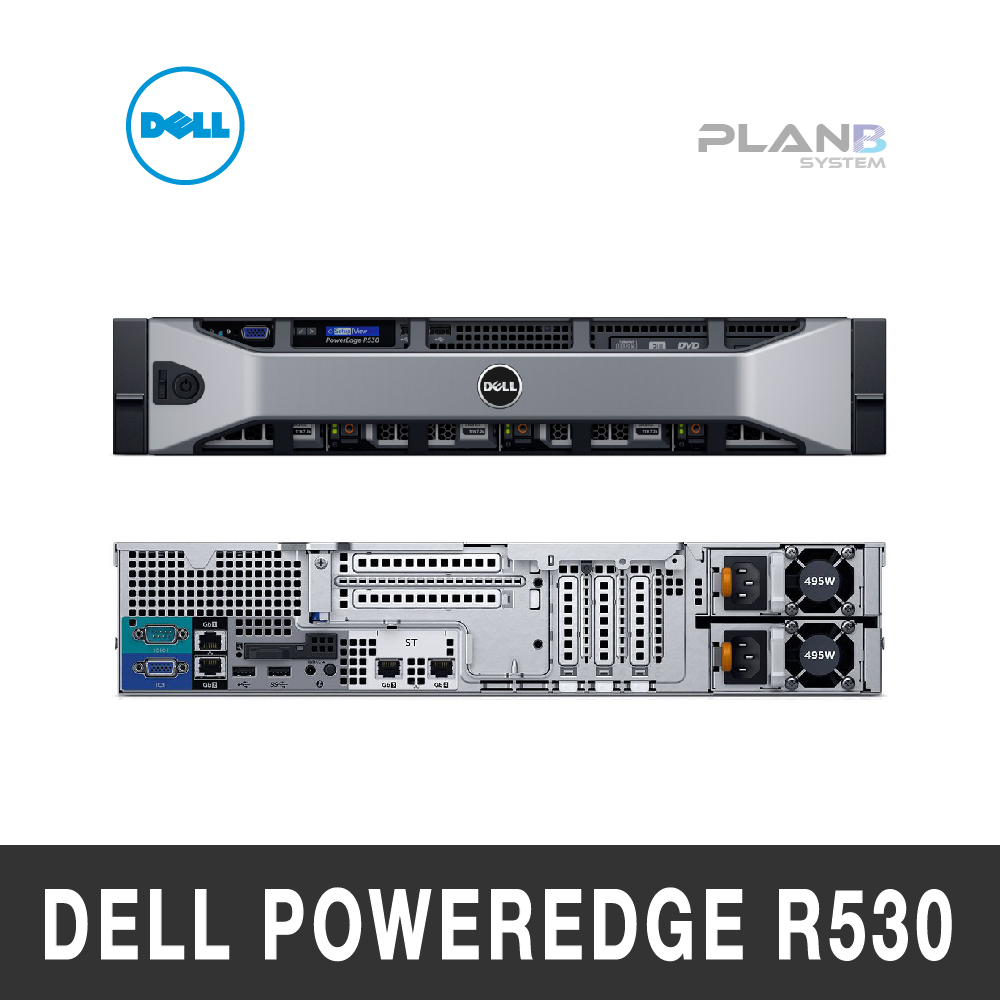 Dell PowerEdge R530 2U Server E5-2620 v4