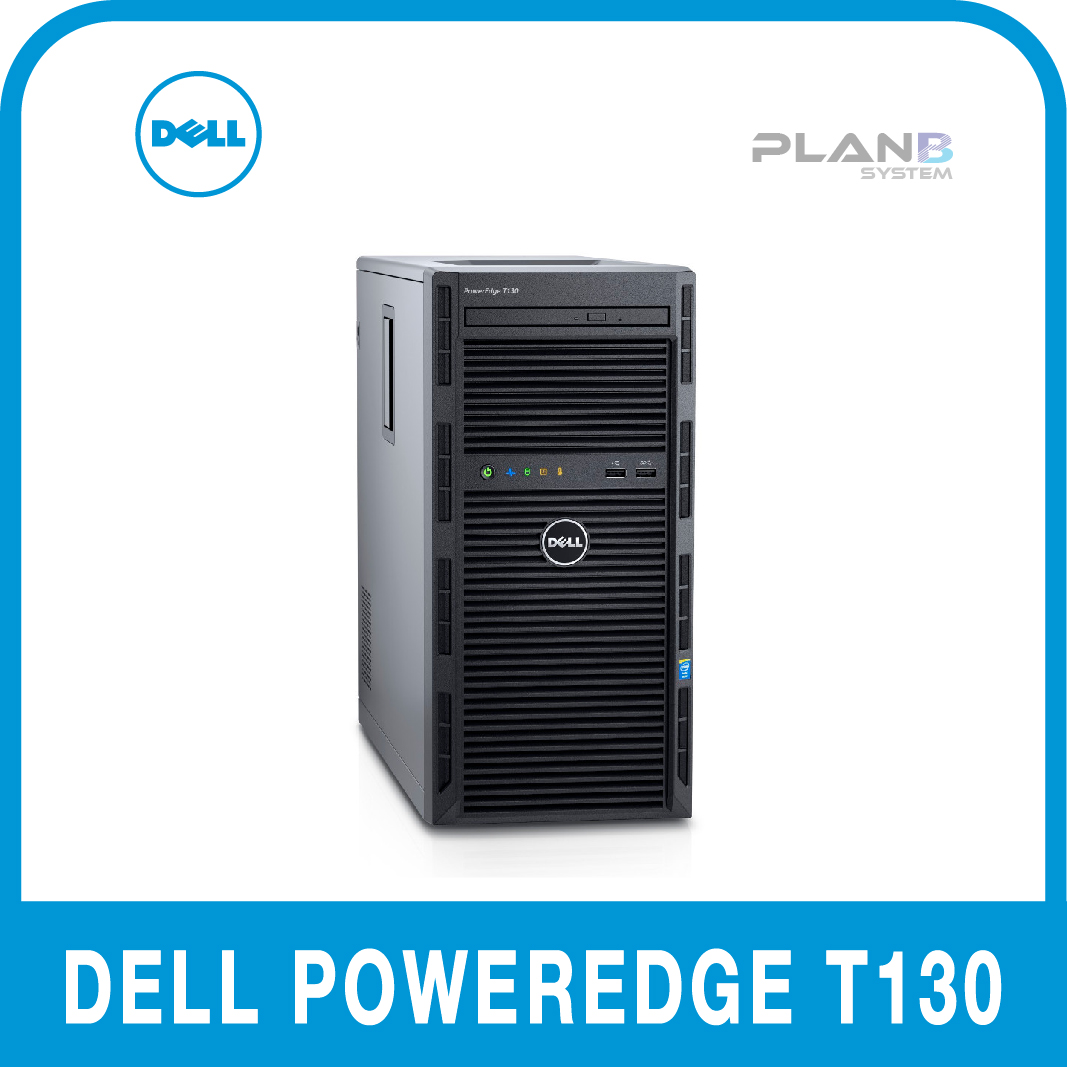 Dell PowerEdge T130 E3-1240v6 8GB 1TB 4NHP 3y