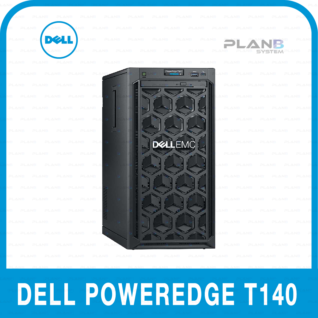 DELL PowerEdge T140 4LFF E-2124 8G/1T/S140/365W/RW/3y