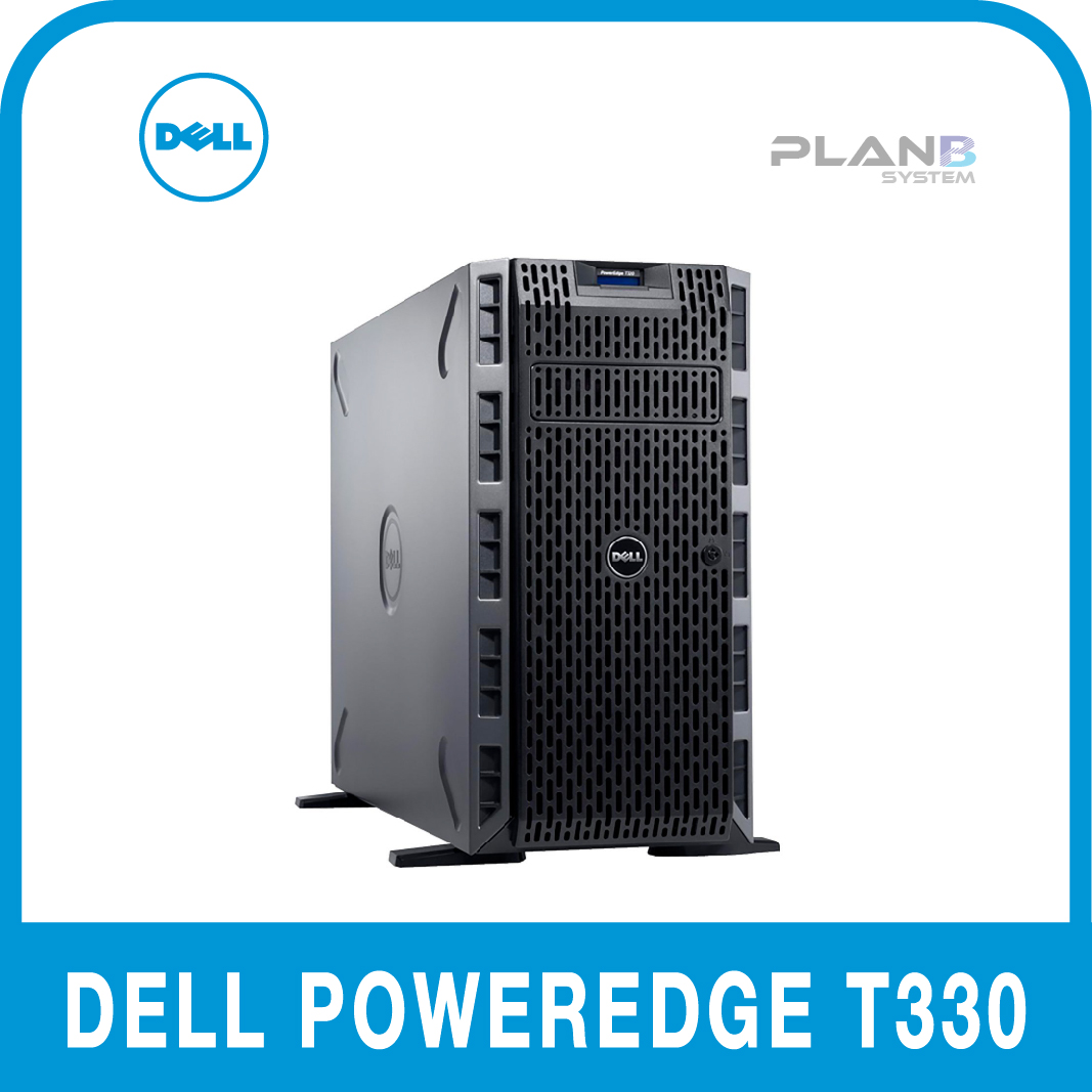 Dell PowerEdge T330 E3-1240v6 8GB 1TB 8LFF 3y