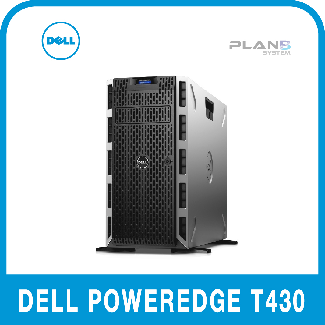 Dell PowerEdge T430 E5-2620v4 8GB 1TB 8LFF 3y